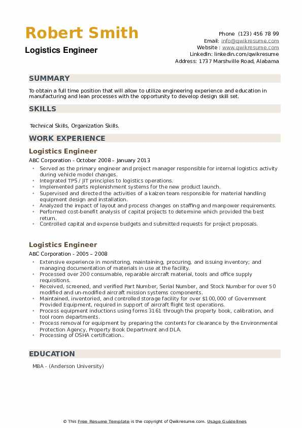 logistics engineer resume samples qwikresume pdf best writers usajobs tips words for Resume Logistics Engineer Resume