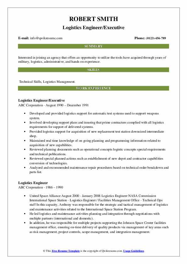 logistics engineer resume samples qwikresume pdf release manager j2ee example definition Resume Logistics Engineer Resume