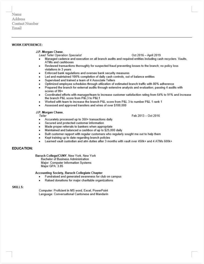 looking for critique on resume to apply kyc aml compliance associate level positions Resume Compliance Associate Resume