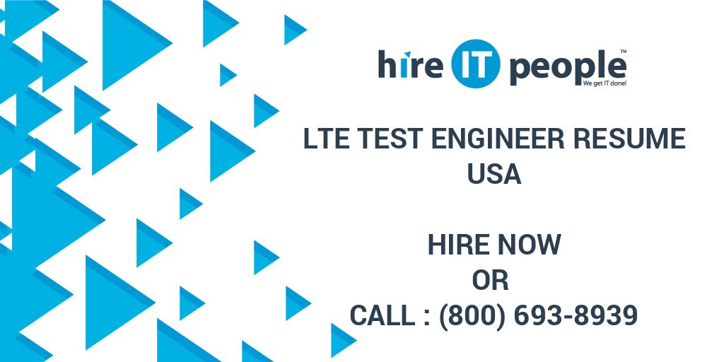 lte test engineer resume hire it people we get done legal template modern style examples Resume Lte Test Engineer Resume