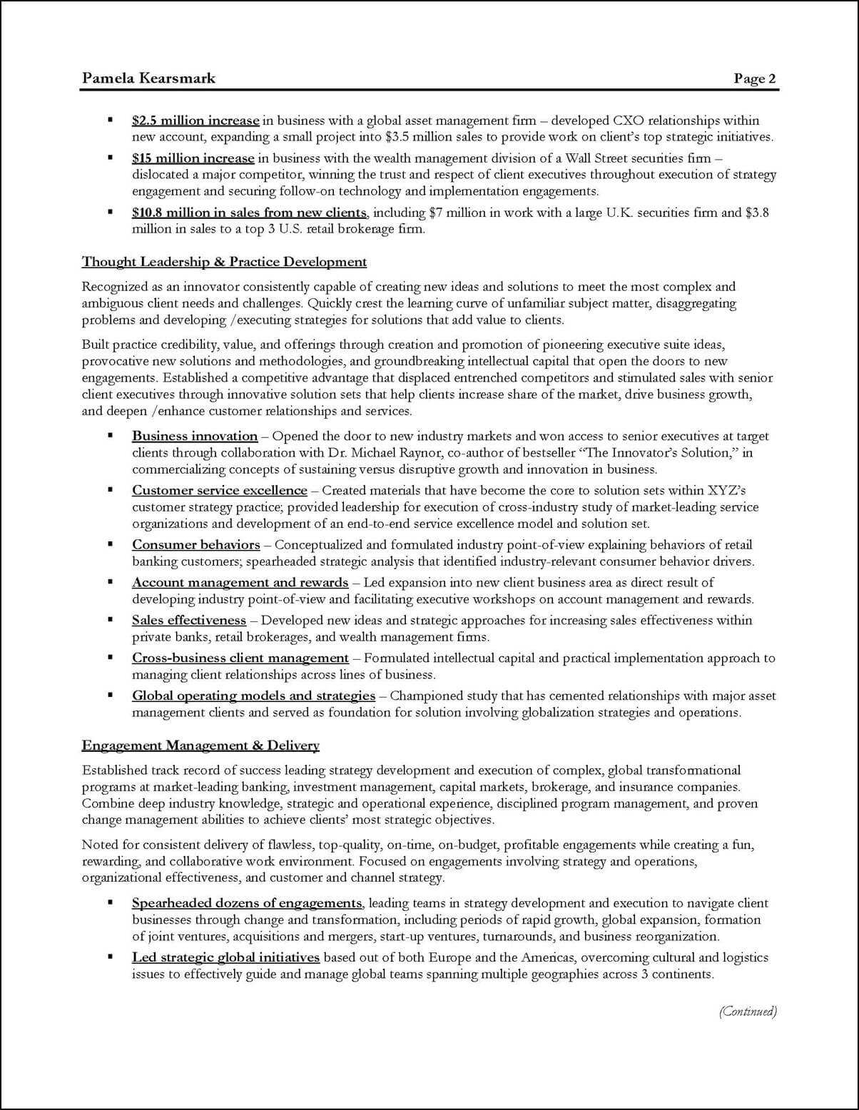 management consultant resume example distinctive career services consultation consulting Resume Resume Consultation Services