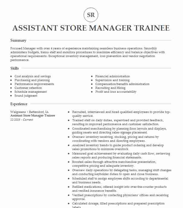manager trainee store resume example aldi louisville sample for retail assistant cic Resume Sample Resume For Aldi Retail Assistant