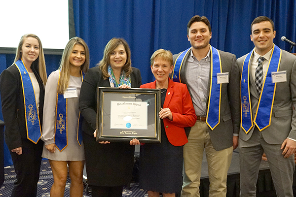 manning school inducts students into beta gamma sigma umass lowell honor society on Resume Beta Gamma Sigma Honor Society On Resume