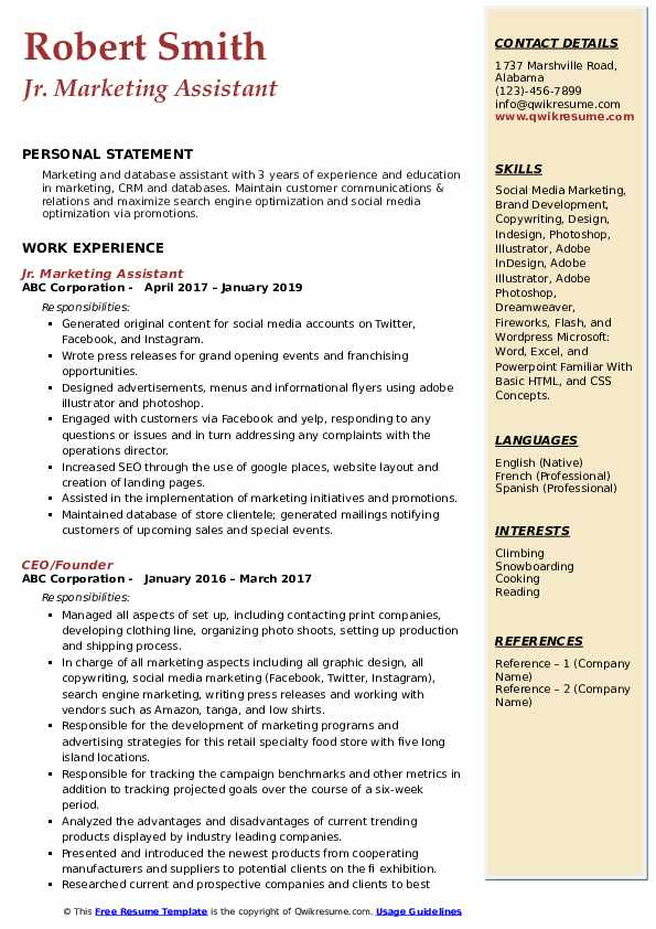 marketing assistant resume samples qwikresume entry level pdf supply chain analyst rn Resume Entry Level Marketing Assistant Resume
