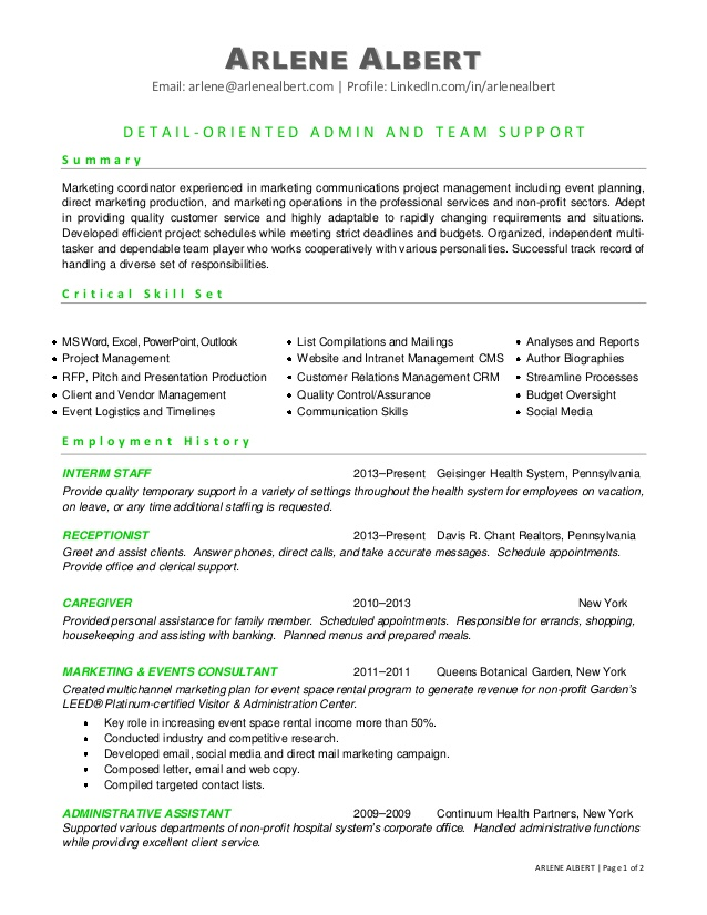 marketing communications events coordinator resume event assistant core qualifications Resume Event Coordinator Assistant Resume