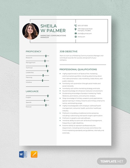 marketing communications manager resume template word apple mac professional design ideas Resume Marketing Communications Manager Resume
