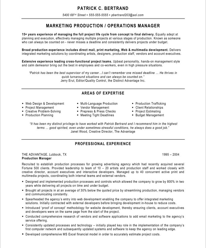 marketing production manager free resume samples blue sky resumes control 14after best Resume Production Control Manager Resume