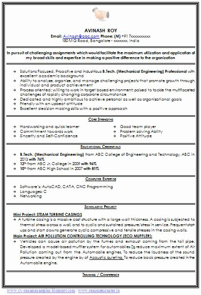 mechanical engineer resume sample new over cv and samples with free in format for Resume Mechanical Engineer Resume Template Free Download