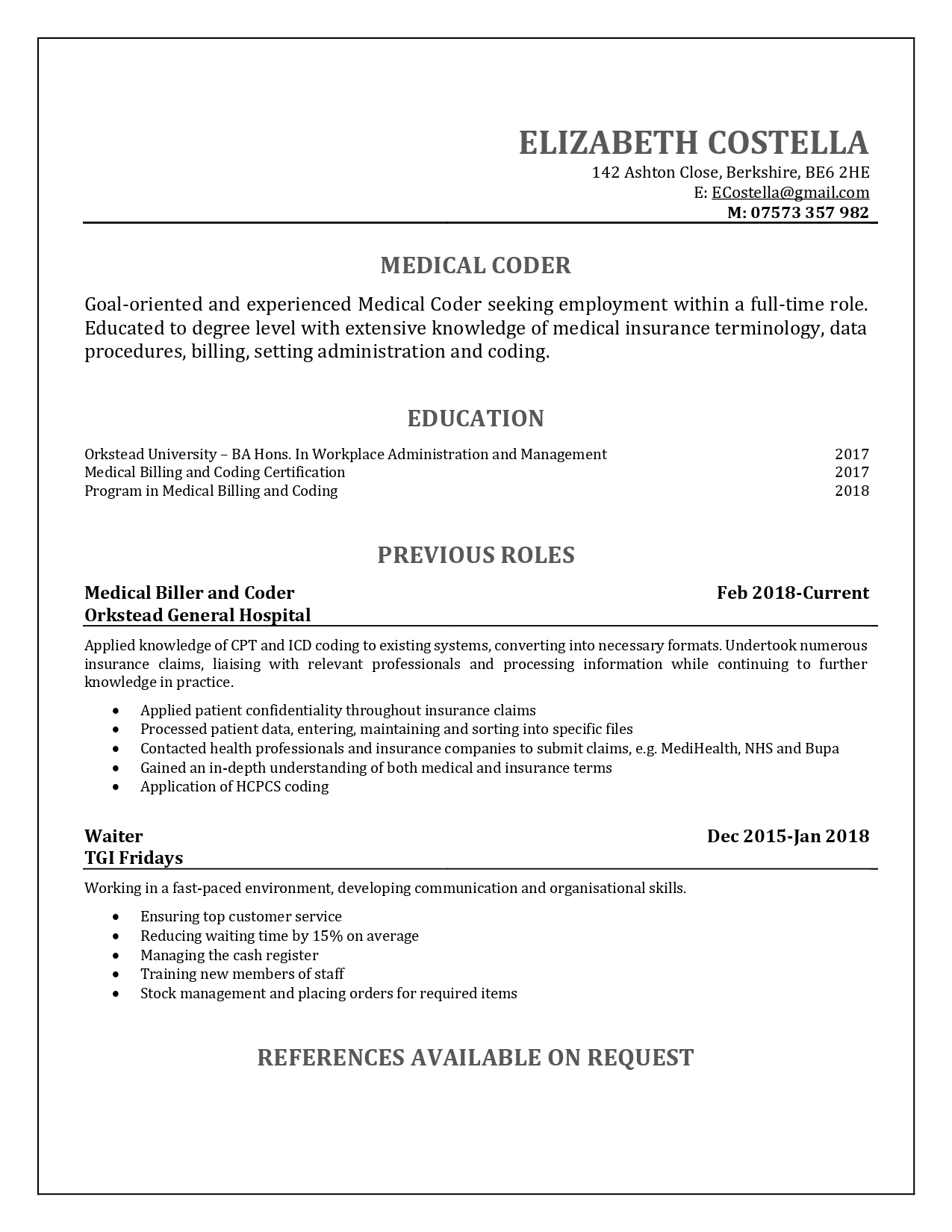medical resume sample professional approach examples building powerpoint media lab Resume Medical Resume Examples 2018