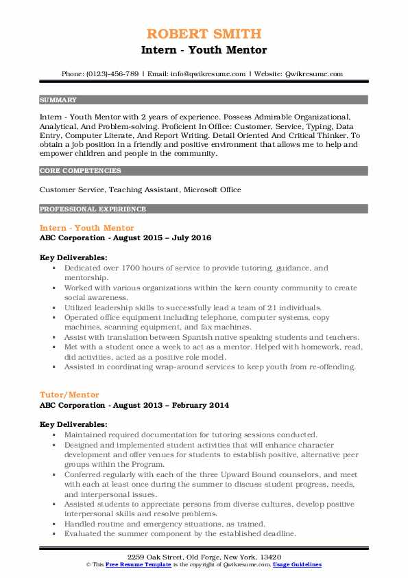 mentor resume samples qwikresume mentoring experience on pdf energy consultant typical Resume Mentoring Experience On Resume
