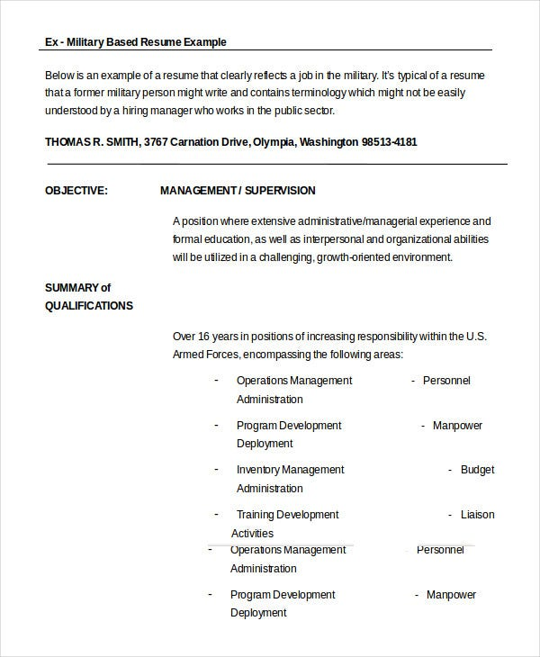 military resume free word pdf documents premium templates format for retired government Resume Resume Format For Retired Government Officer