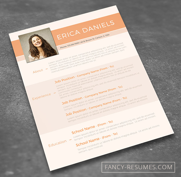 minimal creative resume templates word free premium super dev resources photoshop freebie Resume Free Resume Photoshop Templates