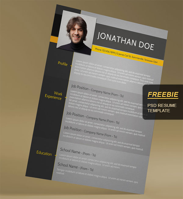 minimal creative resume templates word free premium super dev resources template cfo Resume Free Creative Resume Download