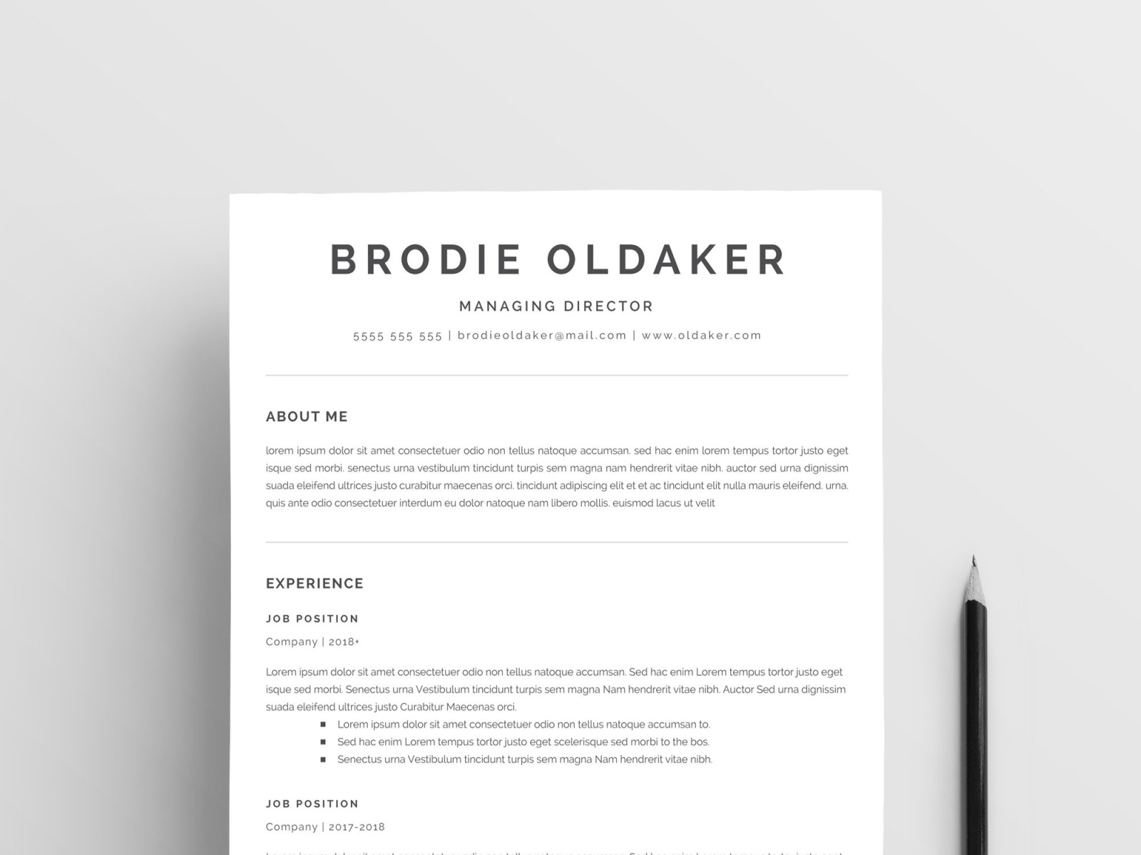 minimalist resume template by templates on dribbble business format civil engineer for Resume Minimalist Resume Template
