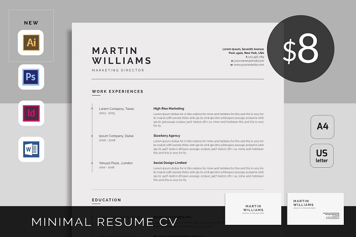 minimalist resume template examples you could s1 good and putting mcdonalds on latex for Resume Minimalist Resume Template