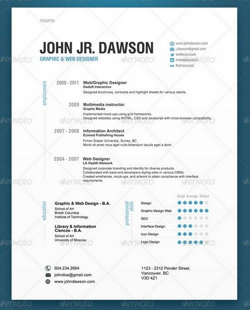modern and professional resume templates ginva template examples job customer service Resume Modern Resume Template Examples