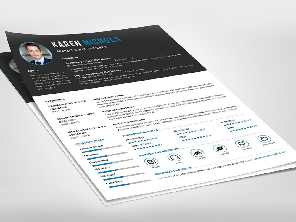 modern professional free resume template resumekraft trendy templates 1000x750 soc Resume Trendy Resume Templates