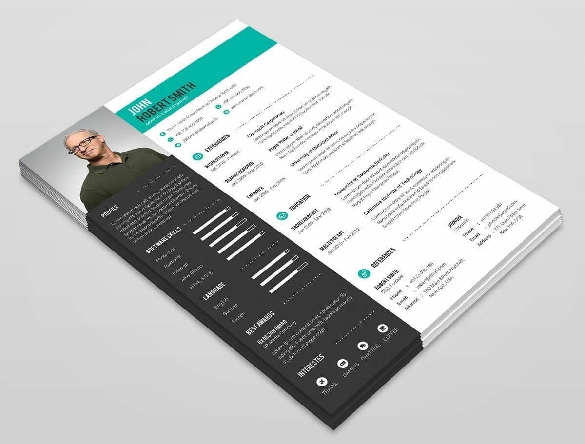 modern resume template format examples for trendy templates summary generator soc analyst Resume Trendy Resume Templates