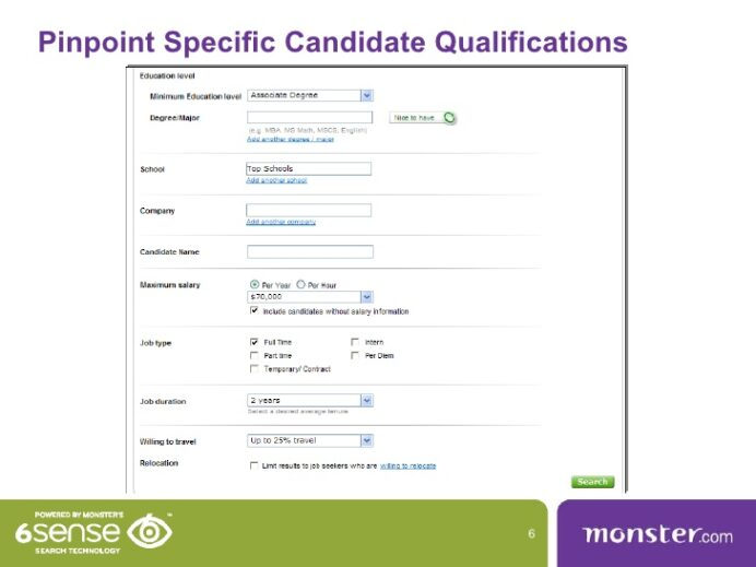 monster resume search for recruiters monstercom business manager language levels military Resume Monster Resume Search For Recruiters
