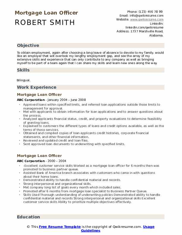 mortgage loan officer resume samples qwikresume examples pdf food service local writer Resume Loan Officer Resume Examples