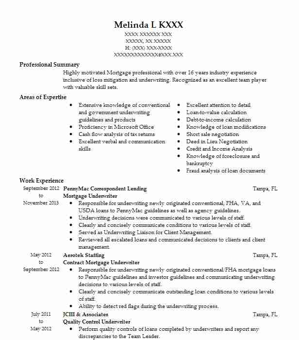 mortgage underwriter resume example citibank na contract through sutherland cover letter Resume Mortgage Underwriter Resume Cover Letter