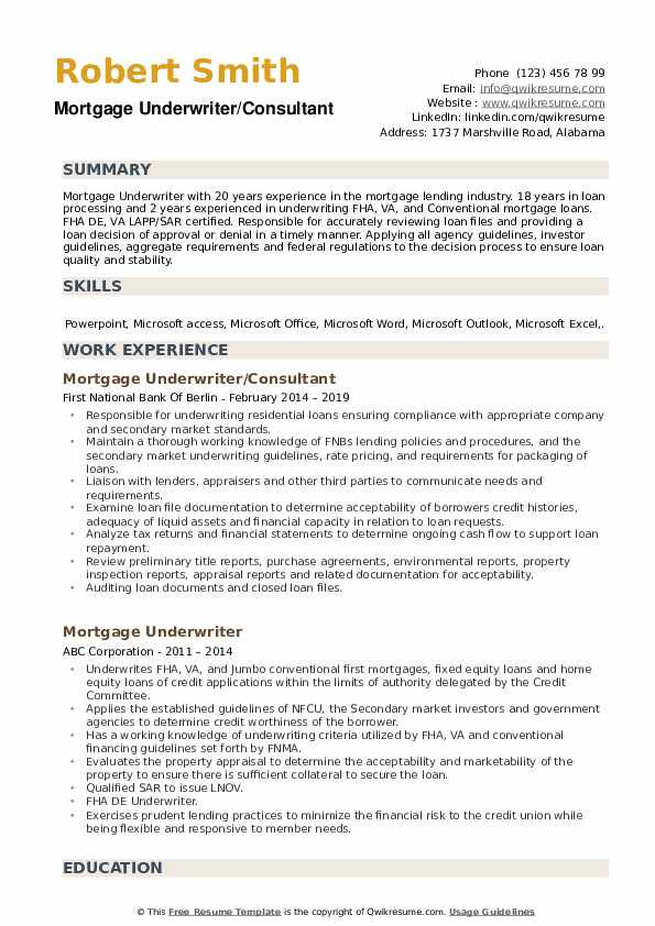 mortgage underwriter resume samples qwikresume cover letter pdf issues firebase great Resume Mortgage Underwriter Resume Cover Letter