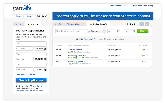 most innovative job search tools livecareer startwire resume review professional Resume Startwire Resume Review