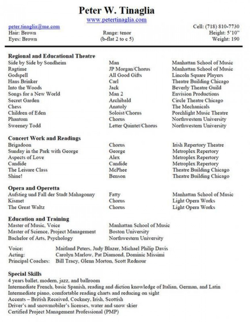 musical theatre resume template addictionary music word fascinating example experienced Resume Music Resume Template Word