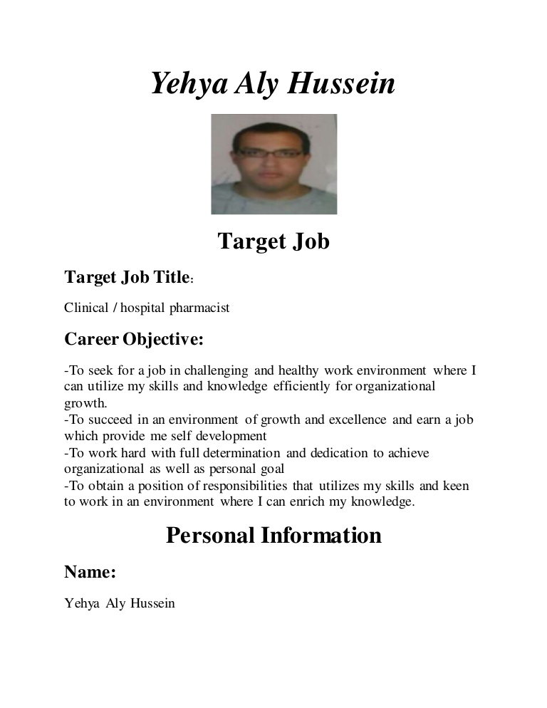 my cv as clinical pharmacist career objective for resume thumbnail office template Resume Career Objective For Pharmacist Resume