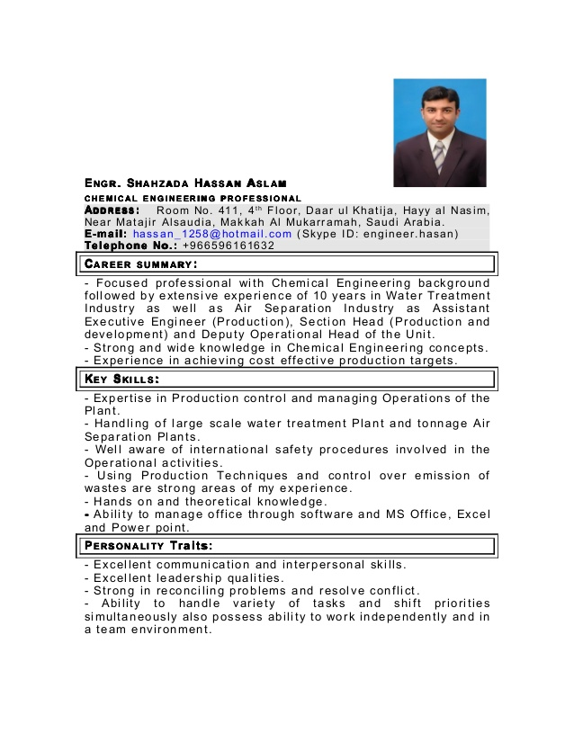 my latest cv as chemical engineer in pdf resume for industry hard and soft skills Resume Resume For Chemical Industry