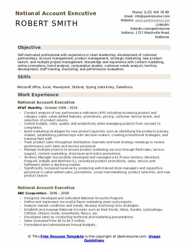 national account executive resume samples qwikresume self motivated examples pdf survival Resume Self Motivated Resume Examples