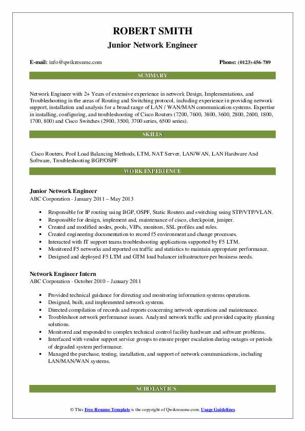 network engineer resume samples qwikresume with year experience pdf difference between Resume Network Engineer Resume With 2 Year Experience