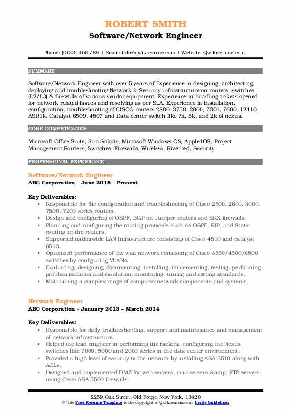 network engineer resume samples qwikresume with year experience pdf treasury manager lic Resume Network Engineer Resume With 2 Year Experience