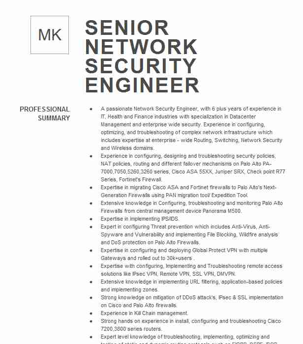 network security engineer resume example vanderbilt university medical center antioch Resume Palo Alto Resume Sample