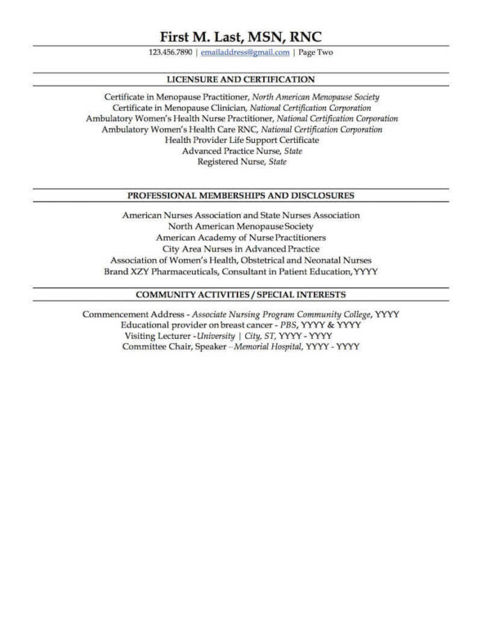 entry level nurse practitioner resume awesome template pe nursing examples registered new Resume New Graduate Nurse Practitioner Resume