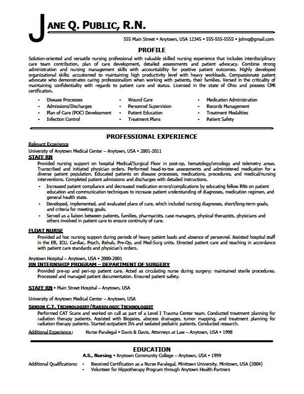 nursing resumes skill sample photo resume examples in template skills additional Resume Additional Experience On Resume