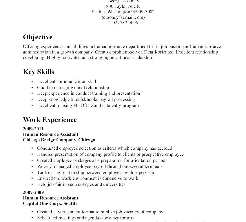 objective resume sample human resources for objectives res job samples career experienced Resume Career Objective For Resume For Experienced