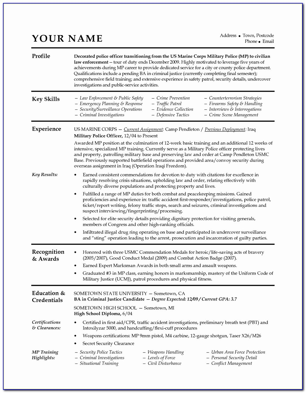 of military resume writing vincegray2014 police services companies sap mdg functional Resume Police Resume Writing Services