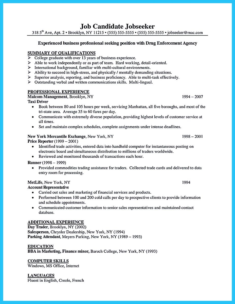 outstanding keys to make most attractive business owner resume template sample commodity Resume Commodity Trader Resume Sample