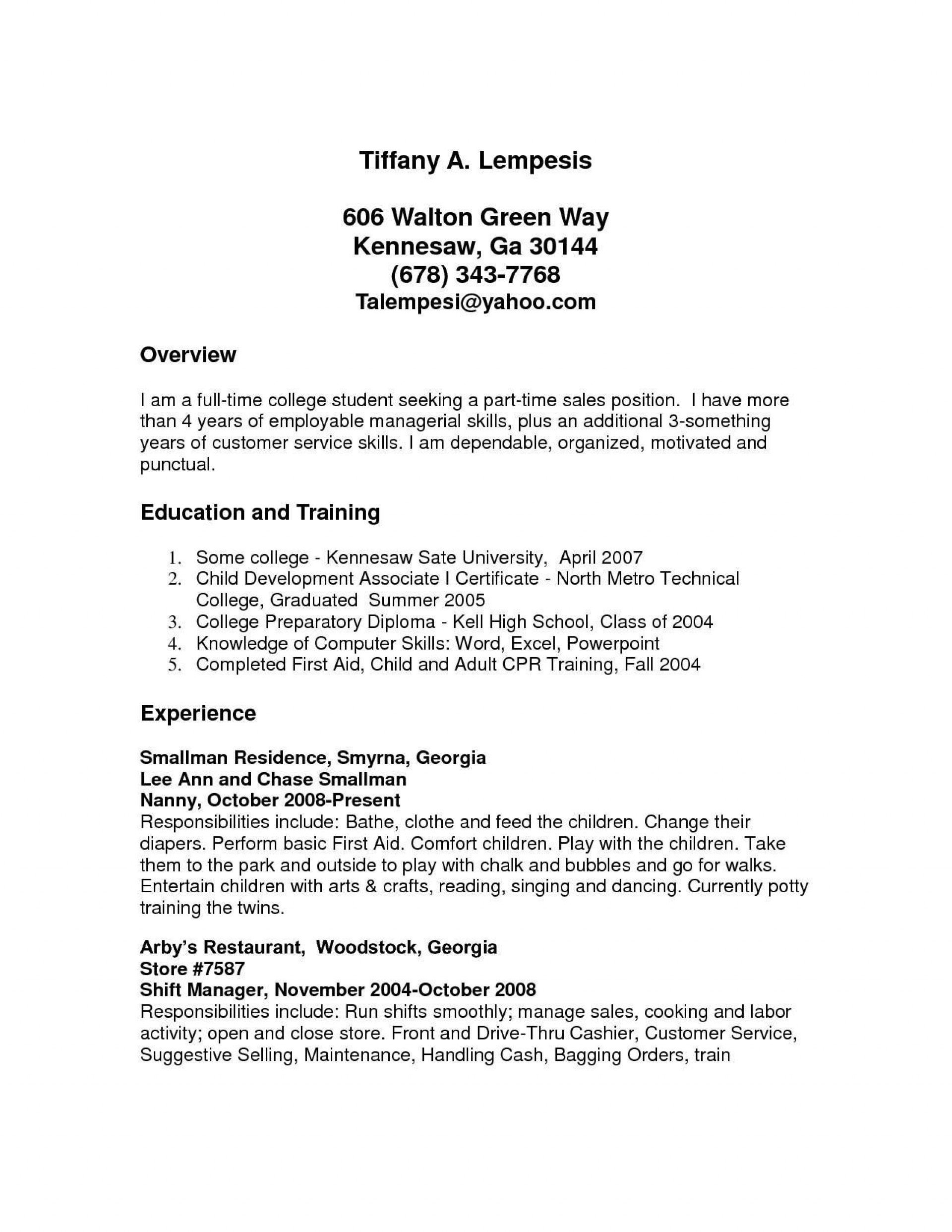 part time job resume template addictionary first examples frightening example Resume First Time Job Resume Examples