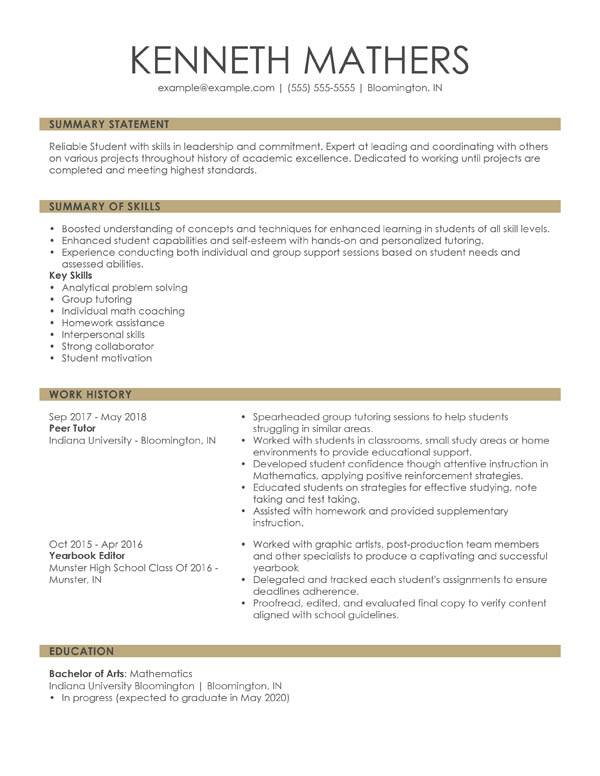perfect resume examples for my professional writing combination student starter worksheet Resume Professional Resume Examples Resume Writing