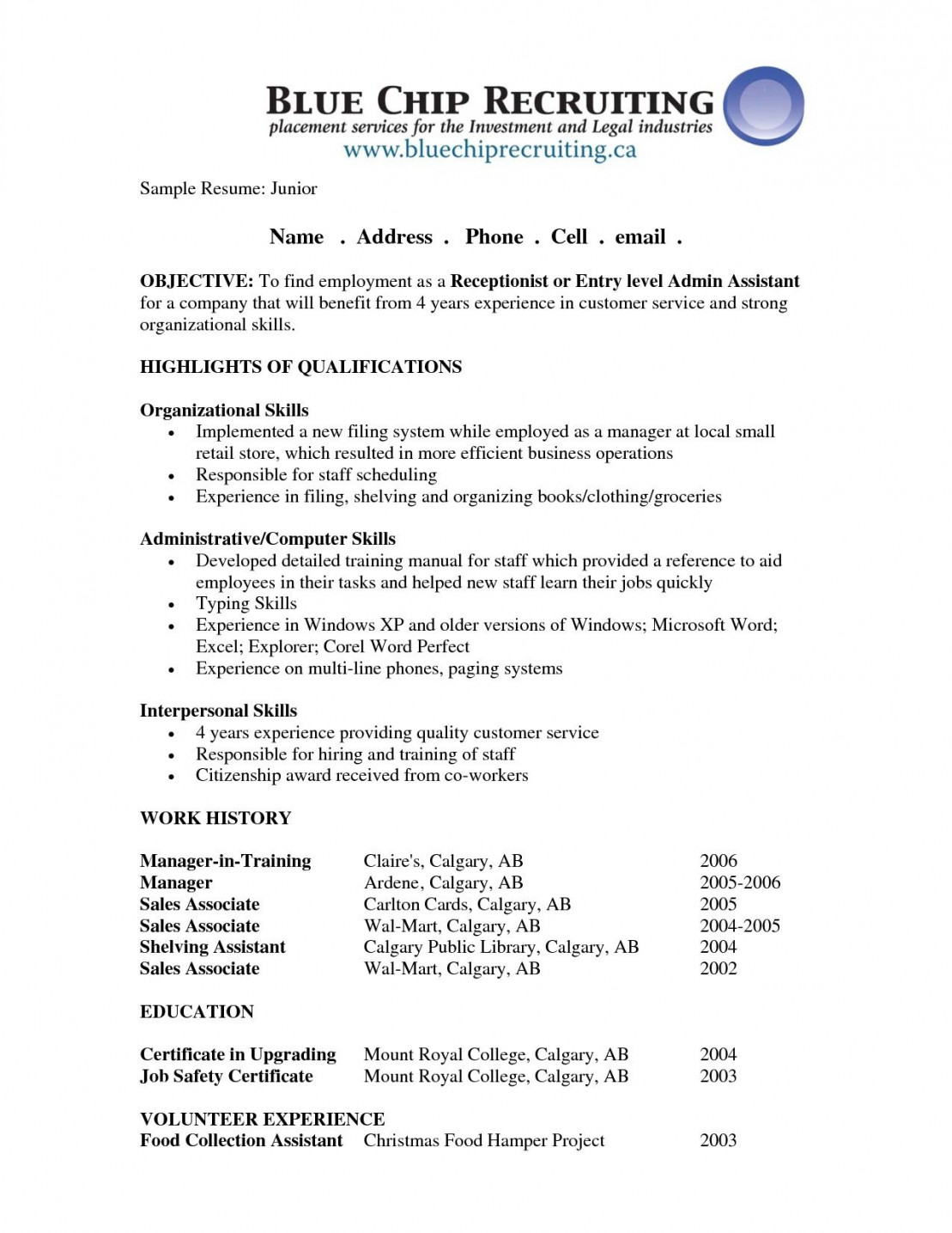 perfect resume objectives template builder example general objective samples pin by job Resume General Resume Objective Samples