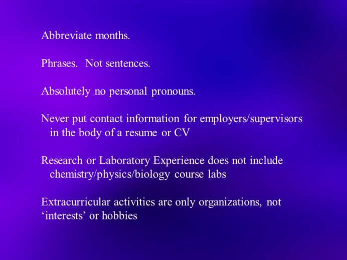perfecting my resume theresa duello phd associate professor abbreviate months on phrases Resume Abbreviate Months On Resume