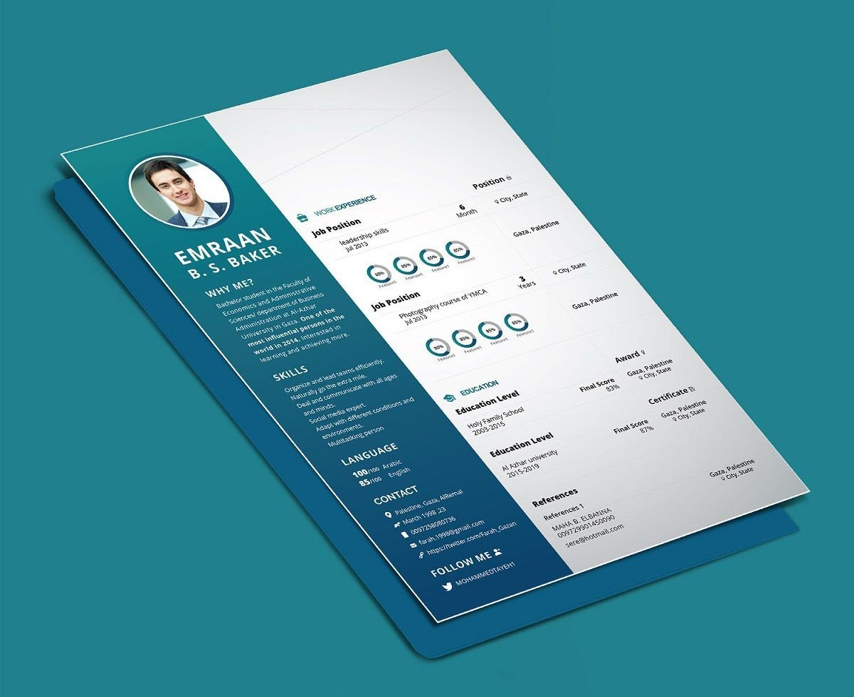 photoshop illustrator indesign resume templates for job college skills examples simple Resume Resume For Photoshop Job