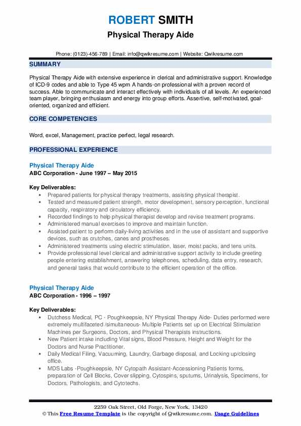 physical therapy aide resume samples qwikresume intern pdf computer hardware engineer Resume Physical Therapy Intern Resume