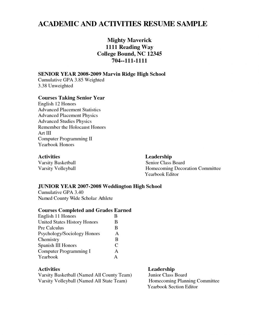 pin on high school resume template activities and honors sample best career objectives Resume Activities And Honors Resume Sample