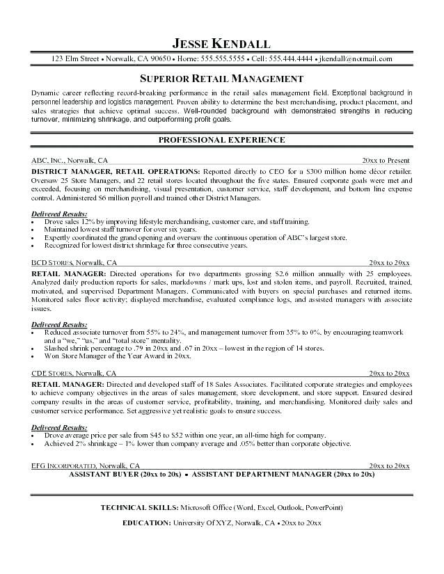 pin on professional resume template district manager deakin talent sag audition and Resume District Manager Resume