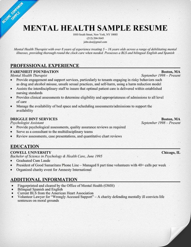 pin on resume samples across all industries mental health job description for Resume Mental Health Job Description For Resume