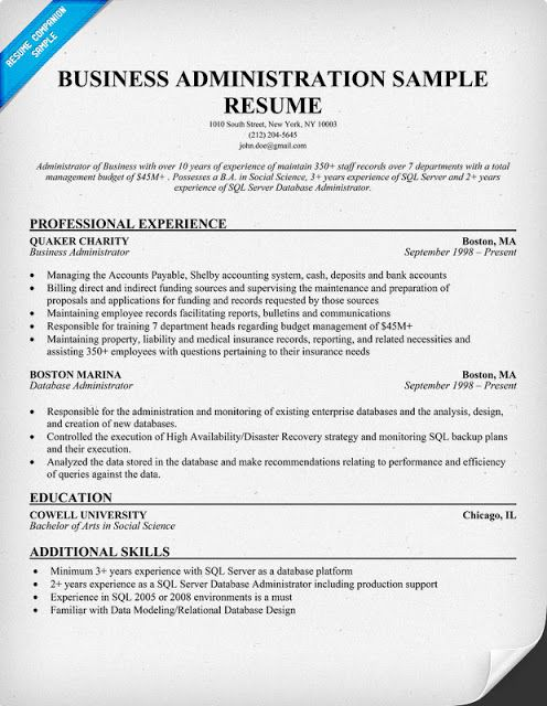pin on resume samples business administration objective example summary for customer Resume Business Administration Objective Resume
