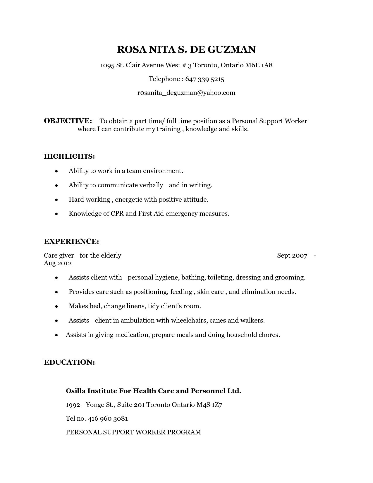 pin on resume templates psw qualifications manufacturing cover letter examples builder Resume Psw Qualifications Resume
